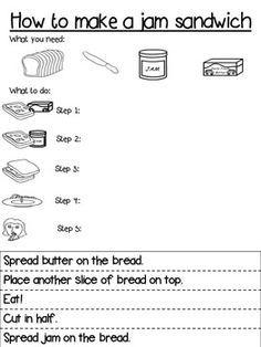 Procedure Text How To Make Sandwich : procedure, sandwich, Pinterest-, Grade, Procedural, Writing-, Sandwich, Google, Search, Writing,, Writing, Worksheets,