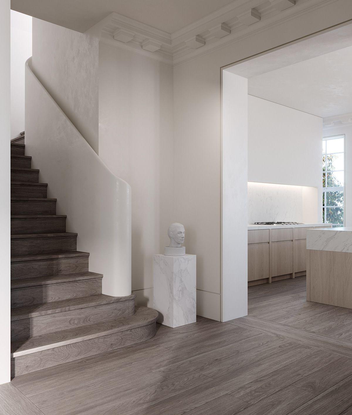 22 Modern Innovative Staircase Ideas: Residential Interior Design