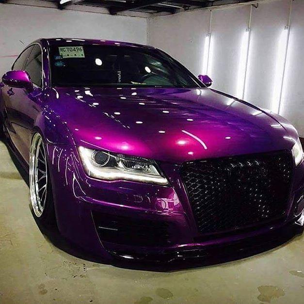 AUDI S7 Purple #purple #colors #pantone #audi #audis7