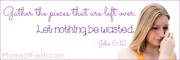 Let Nothing Be Wasted