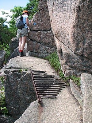 Talus Slopes Trip Report Acadia National Park, Precipice Trail - trip report