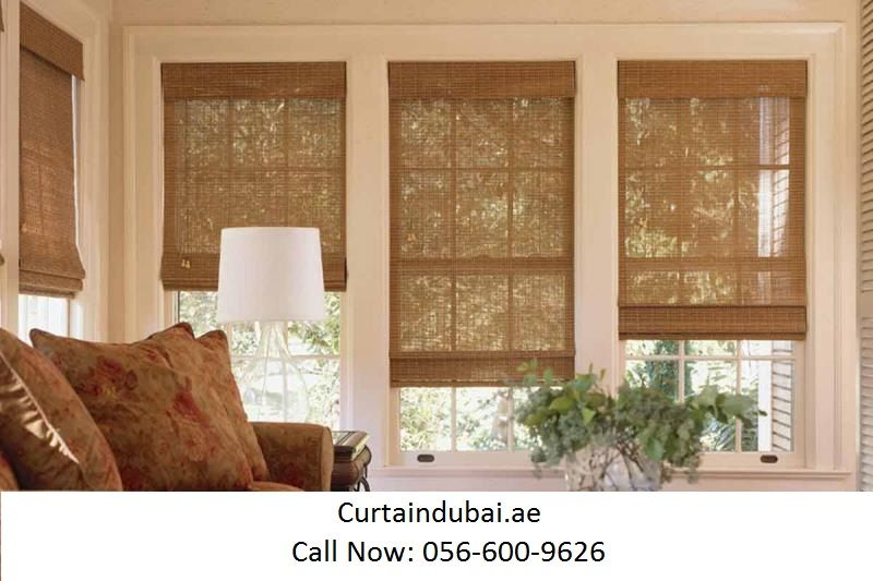 Curtaindubai Provide Best Quality Blinds At Very Low Price In Dubai And Abu Dhabi Our Blinds Are Very E Bamboo Window Shades Woven Wood Shades Wood Shades Ain wooden window room window