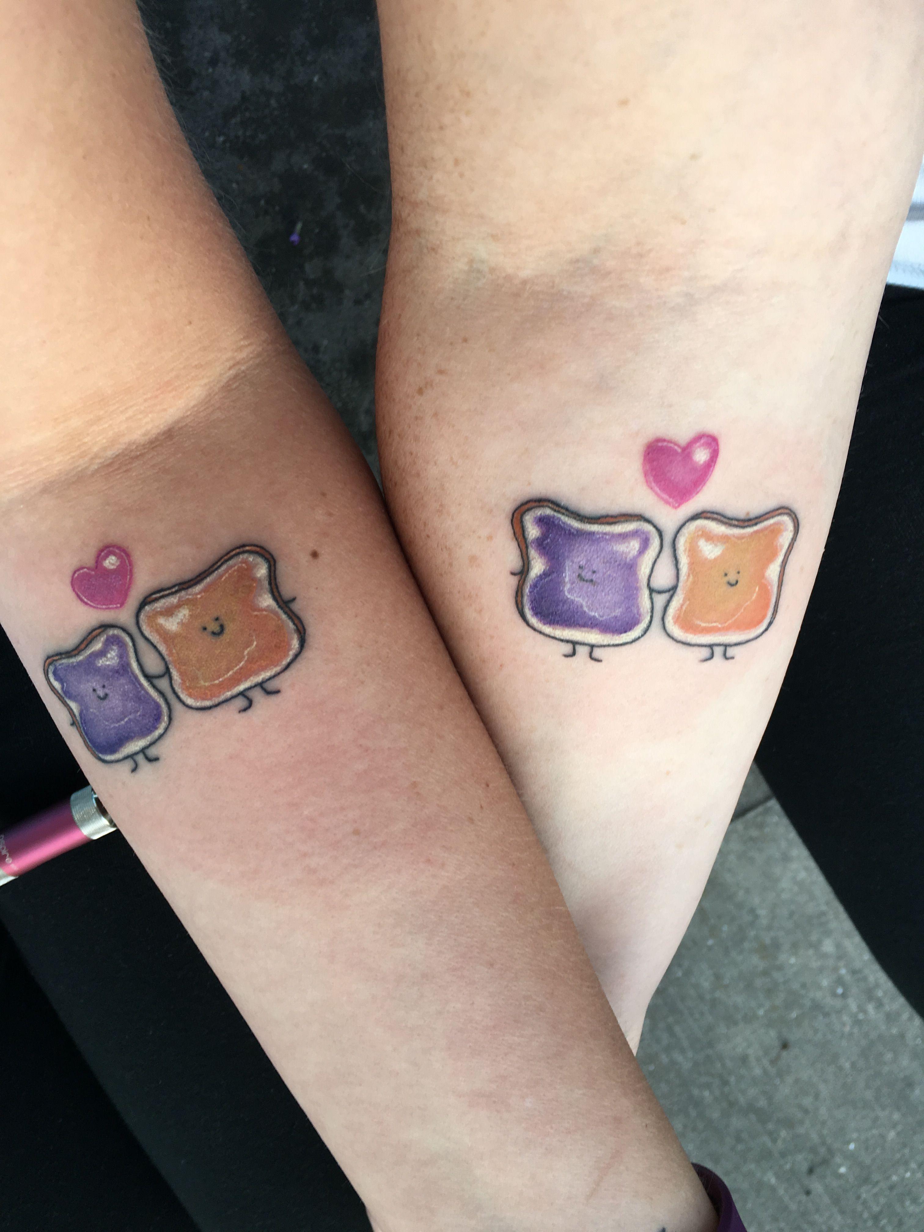 Best Friend Peanut Butter And Jelly Tattoo Ideas Tattoos