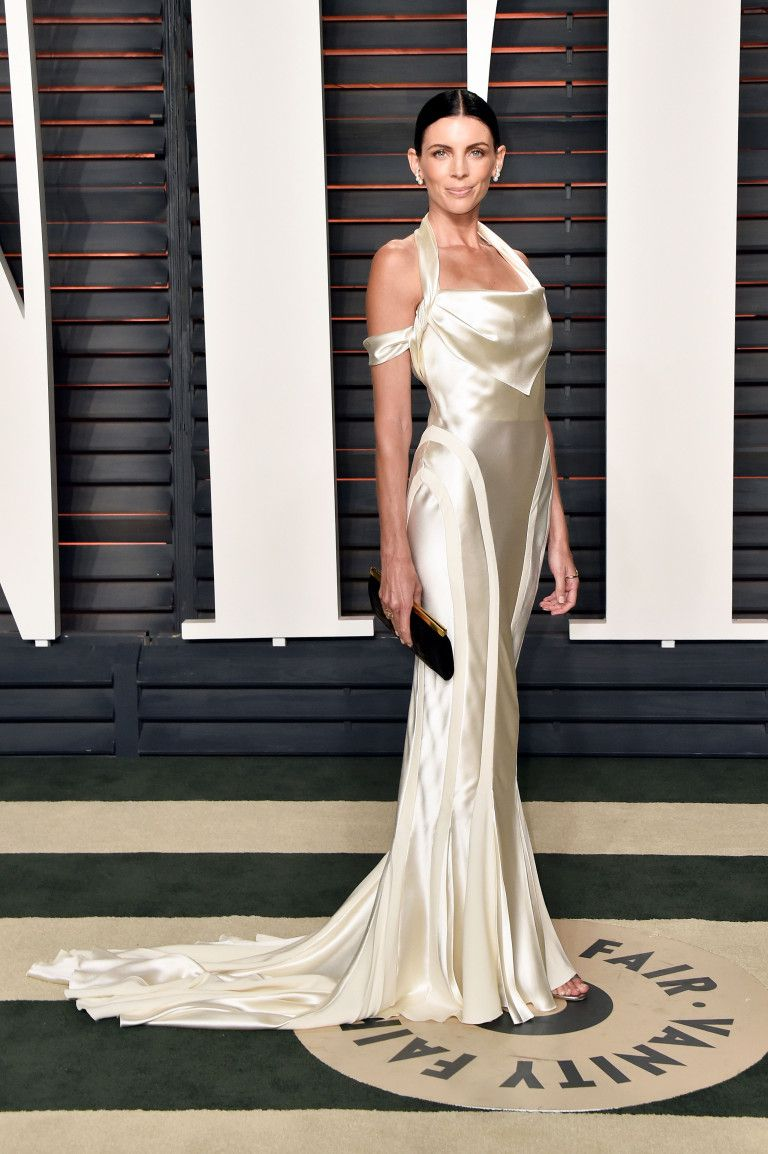 Ross wedding dress  Liberty Ross Recycles Her Wedding Dress for the Oscars  Satin