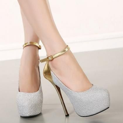 Sexy Ankle Strap Design Shoes