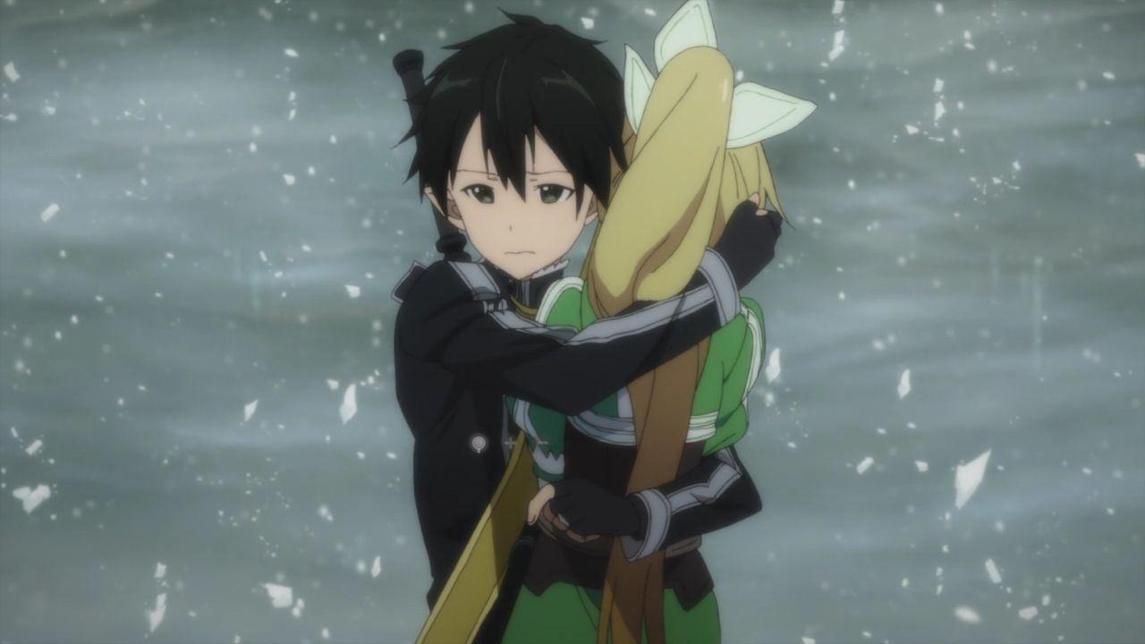 He Hugs A Lot Of Girls Sword Art Sword Art Online Asuna Sword Art Online