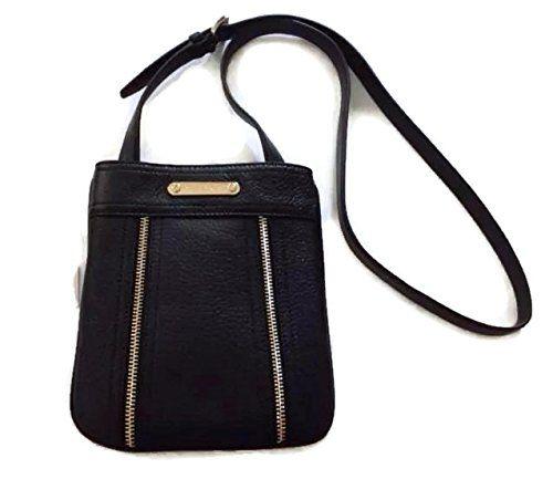 e860c46305e1ff Michael Kors Moxley Large Leather Crossbody Bag Black 7.5