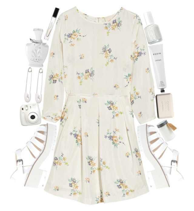 Light Floral by designbecky on Polyvore featuring Band of Outsiders, Windsor Smith, Kristin Cavallari, Creed, Marc Jacobs, Rodin, Chanel and Essie