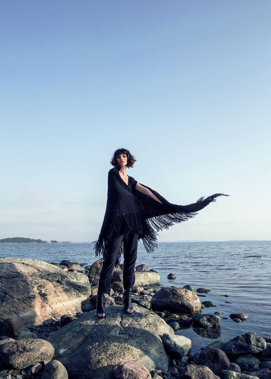 visual optimism; fashion editorials, shows, campaigns & more!: varma vindar: rebeca marcos by elisabeth toll for elle sweden december 2014