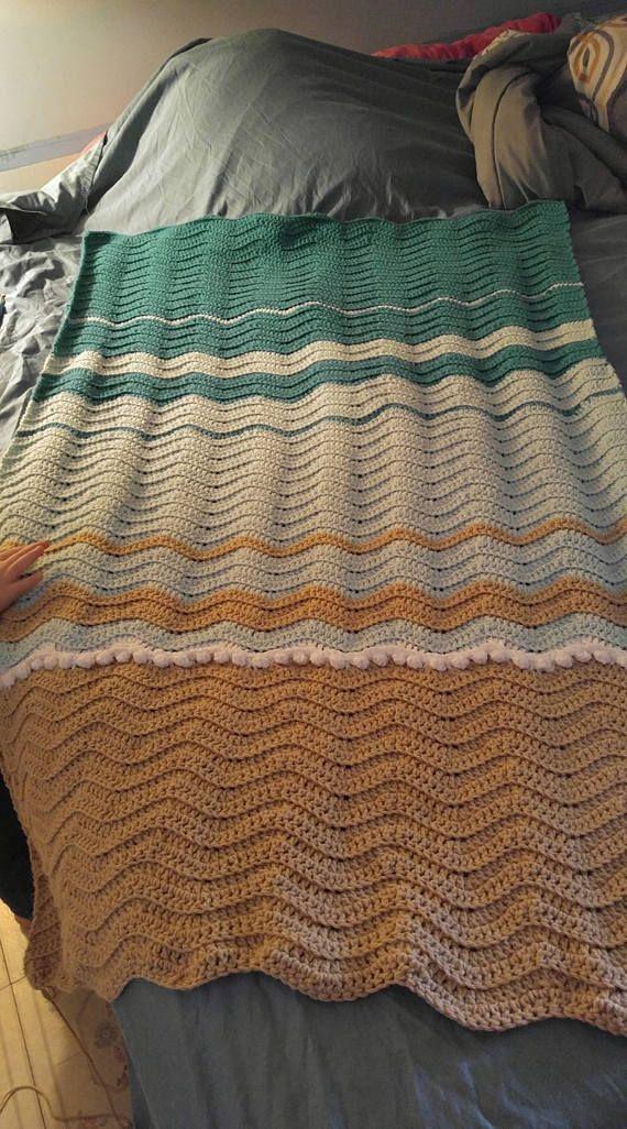 Sea Turtle Crochet Blanket Blanket Pattern Only Crafts