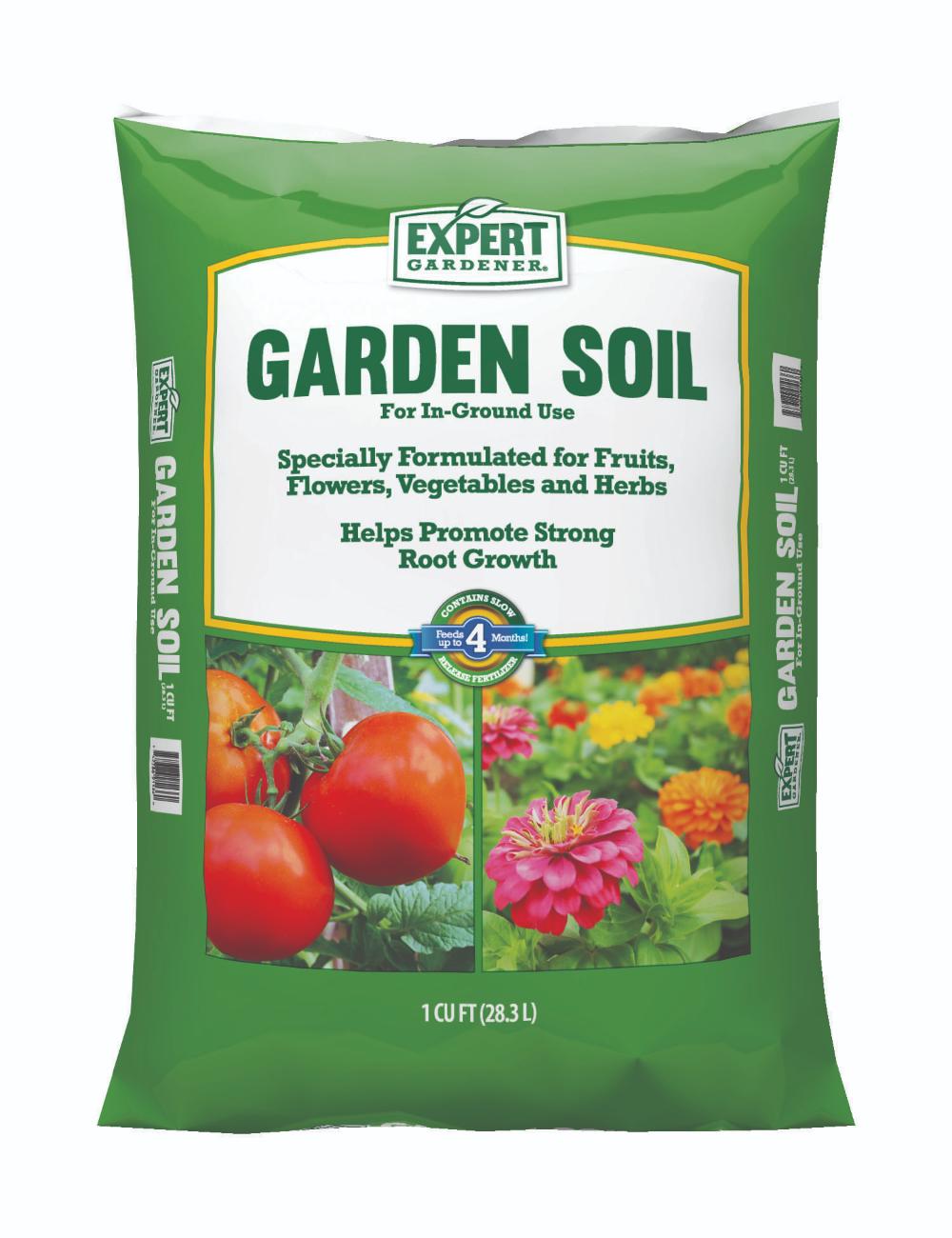 Free 2 Day Shipping Buy Expert Gardener Garden Soil 1cf At Walmart Com Garden Soil Garden Help Soil