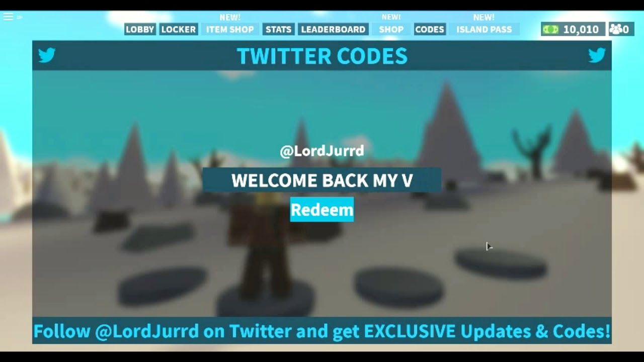 New Code New Season Island Royale Beta New Update Code 27