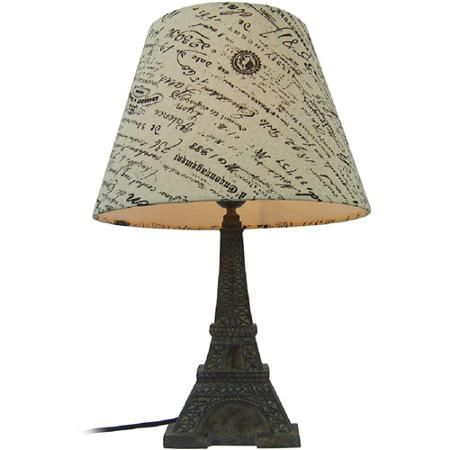 Simple Designs Eiffel Tower Paris Lamp With Shade Walmart Com Eiffel Tower Lamp French Lamp Lamp