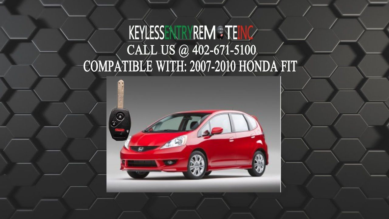 How To Replace A Honda Fit Key Fob Battery 2009 2017