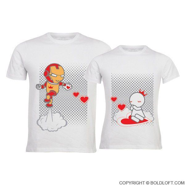 Keep Calm And Love Me His Her Matching Couple Shirt Set