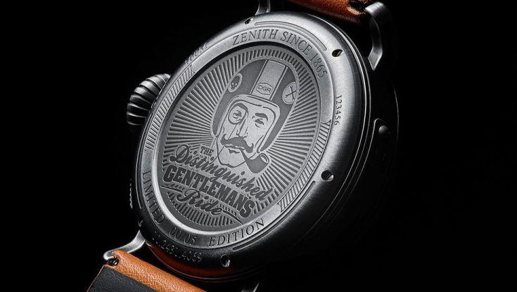 TimeZone : Industry News » N E W M o d e l - Zenith Pilot Ton-Up DGR