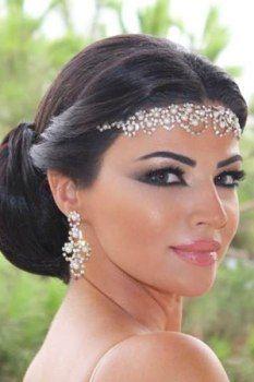 Pin By Marcela Garcia On ميك اب Wedding Hair And Makeup Hair Makeup Bridal Makeup
