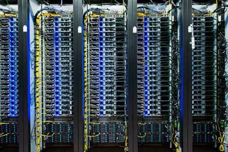 Racks of OCP servers in Facebooku0027s Lulea, Sweden, data center - emc storage engineer sample resume