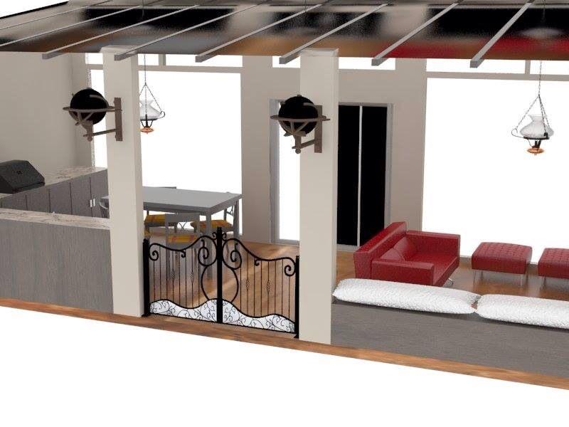 Diseñadora y decoradora Susan Cordero terraza 1