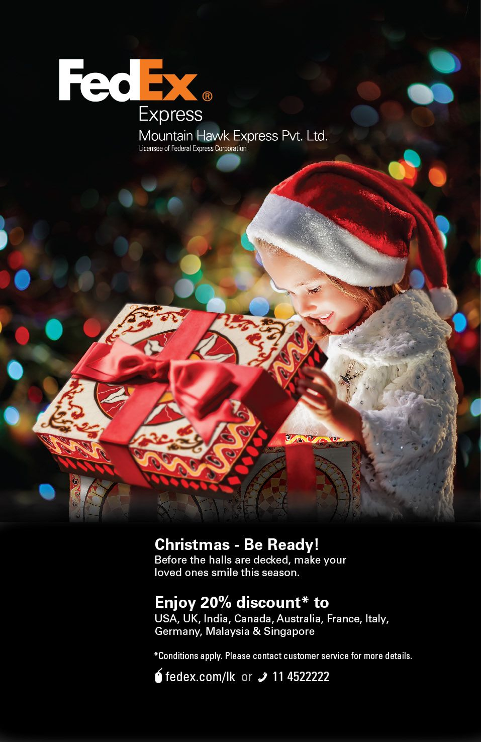 """Check out this Behance project """"Christmas Promotional E"""