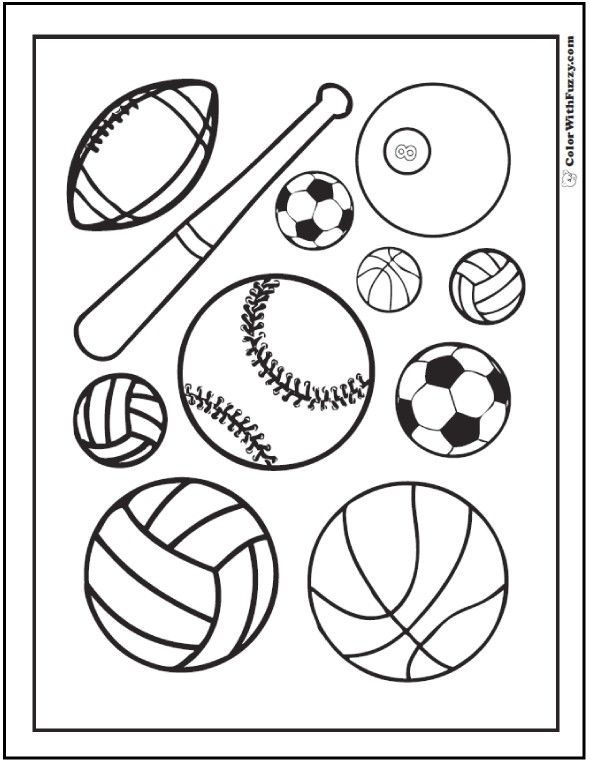 The top 20 Ideas About Printable Coloring Pages Of Sports