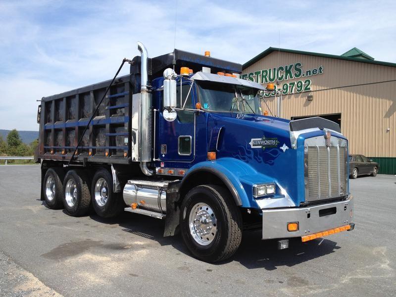 KENWORTH TRI-AXLE DUMP | Dump trucks for sale, Best used ...Used Kenworth Dump Trucks For Sale In Pa