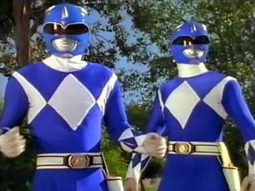 Two Blue Rangers
