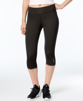 cd3d2359ea59c Reebok Reversible Speedwick Capri Leggings - Black L | Products ...