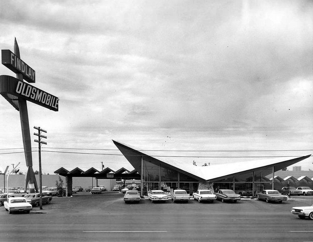 Findlay Oldsmobile Dealership Las Vegas Nevada Small Luxury