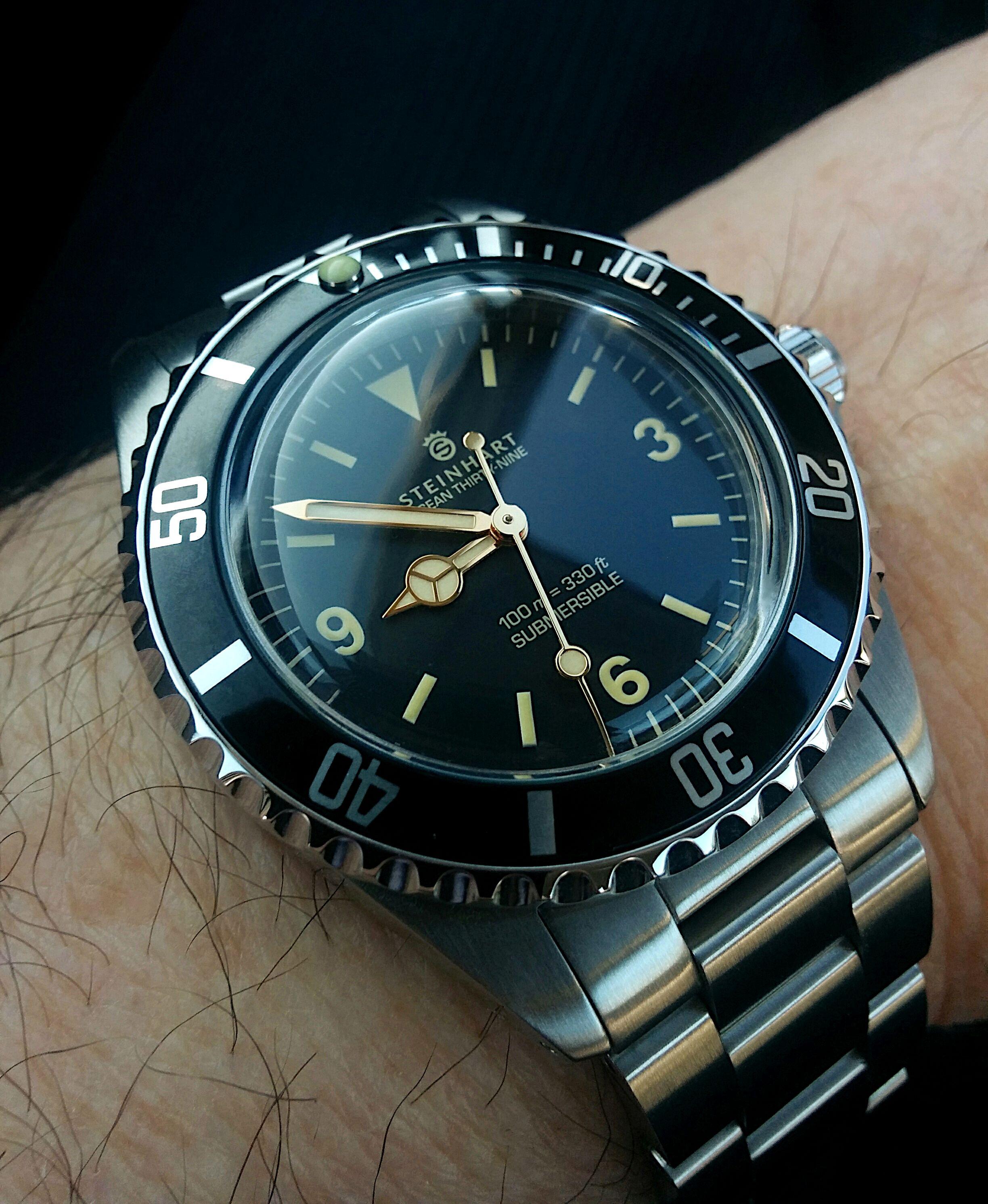 Pin by Bas Vleeskruyer on Horloges in 2020 | Steinhart watch
