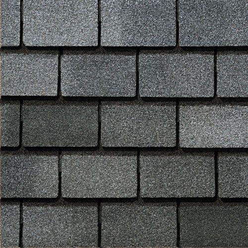 Bristol Gray Gaf Designer Roof Shingles Swatch