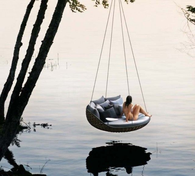 Marvelous Swingrest Hanging Lounger By Daniel Pouzet 1