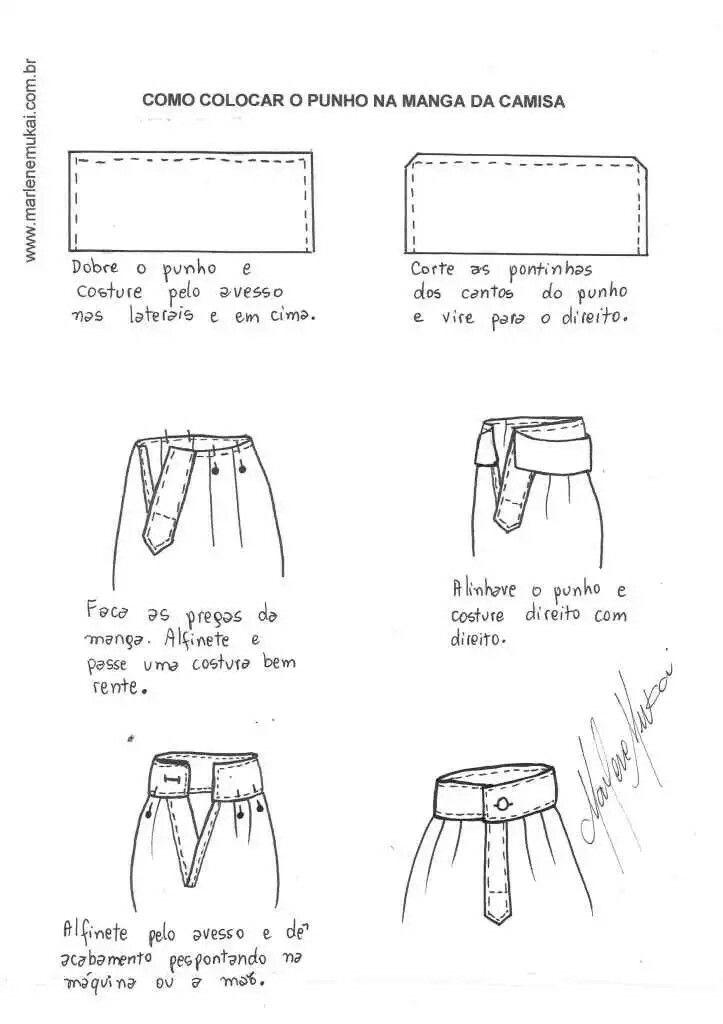 Como colocar o punho da manga | Manualidades prácticas | Sewing ...