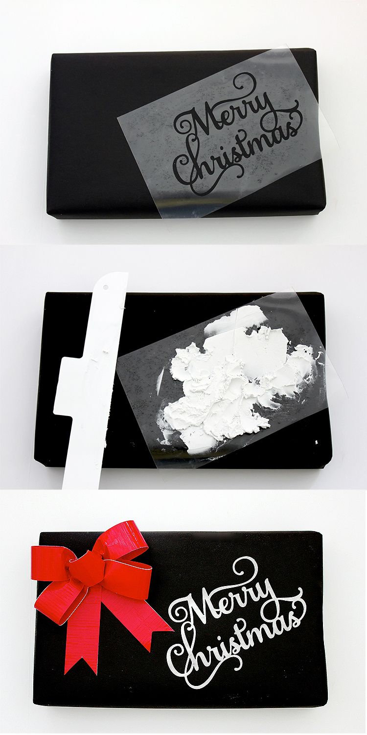 Unusual Gift Wrapping Ideas Duct Tape, Roofing Paper