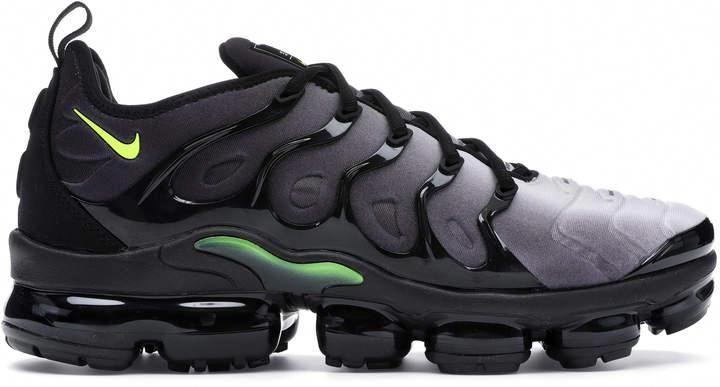 Nike VaporMax Plus Black Volt | Men's Stylish Sneakers
