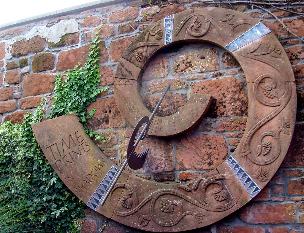 time prints in shadows clock at dumfries | once upon a time