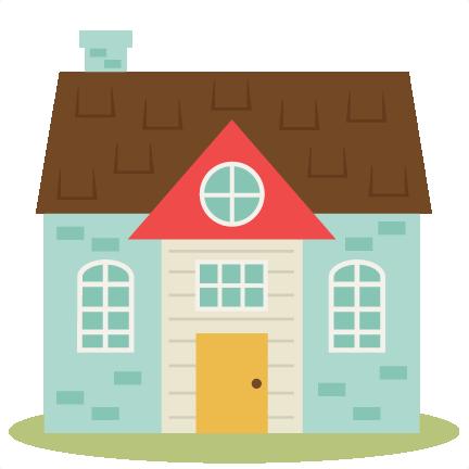 Cute House Set Svg Cutting Files Home Svg Cut File Free
