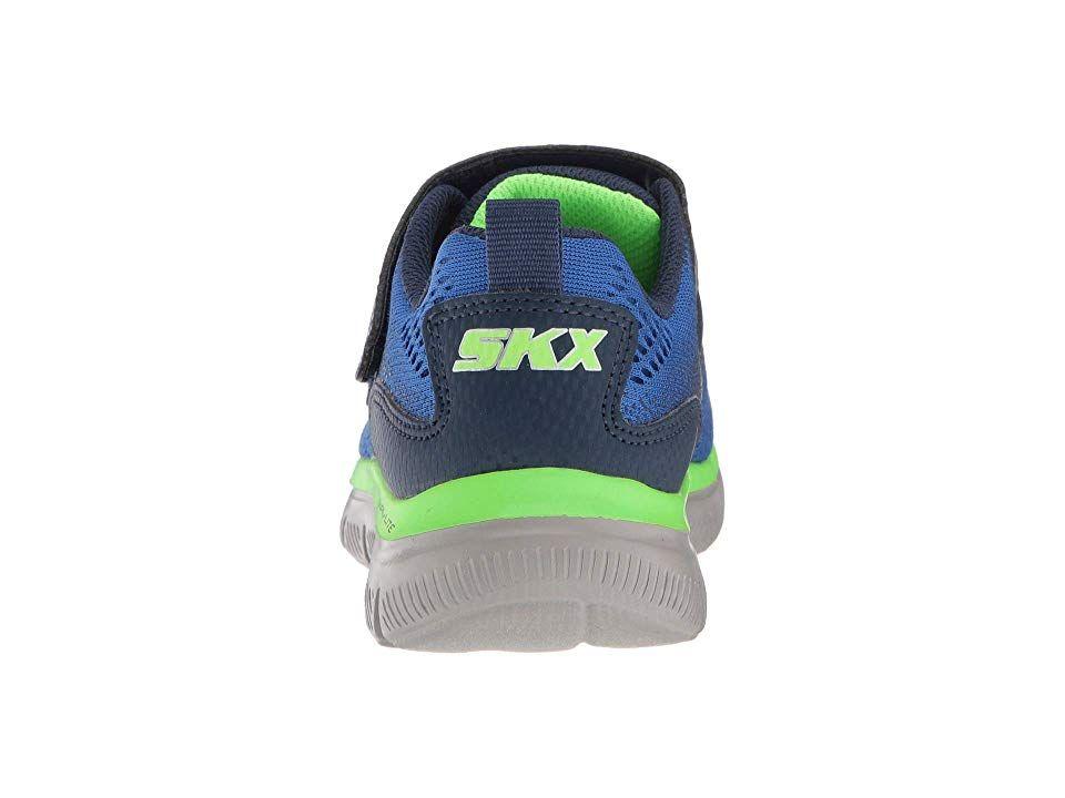 3dc544dc9950 SKECHERS KIDS Flex Advantage 2.0 97499L (Little Kid Big Kid) Boy s Shoes  Blue Navy