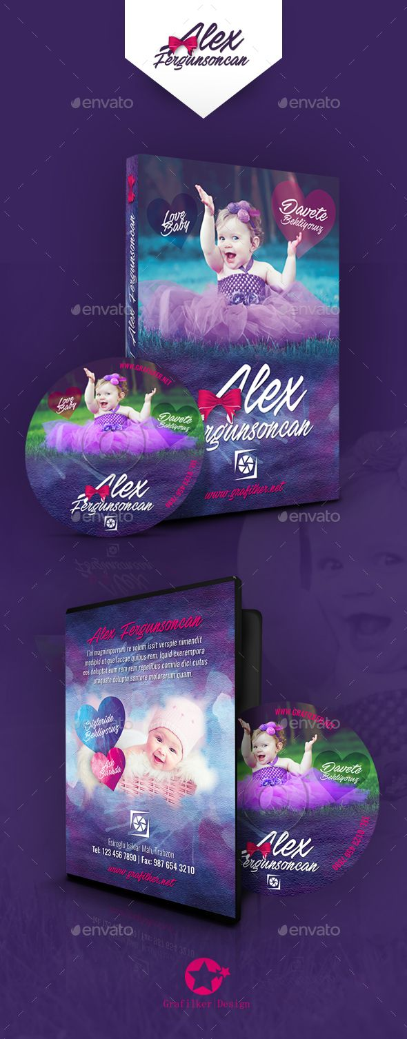 baby event dvd cover templates pinterest template cd cover