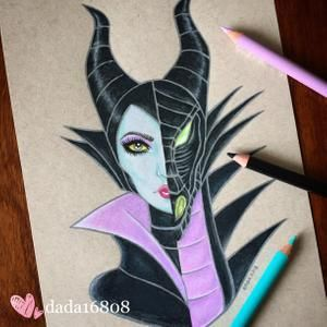 20 disney tattoo maleficent