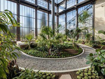 Botanischer Garten Karlsruhe Palmenhaus Foto Staatliche Schlösser