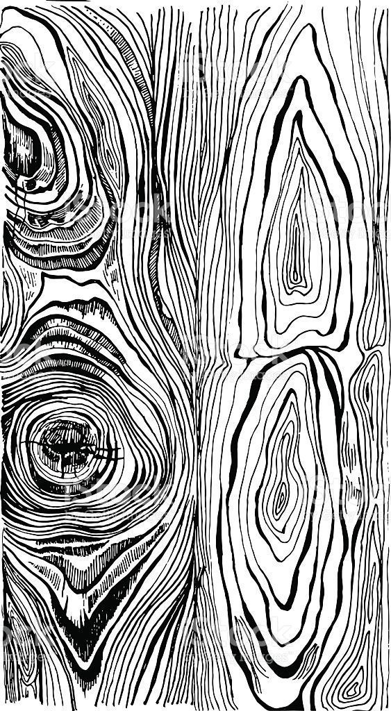Hand drawn wood texture. Ink illustration in vintage engraved style - #drawn #en... -  - #Drawn #Engraved #Hand #Illustration #Ink #style #texture #Vintage #Wood