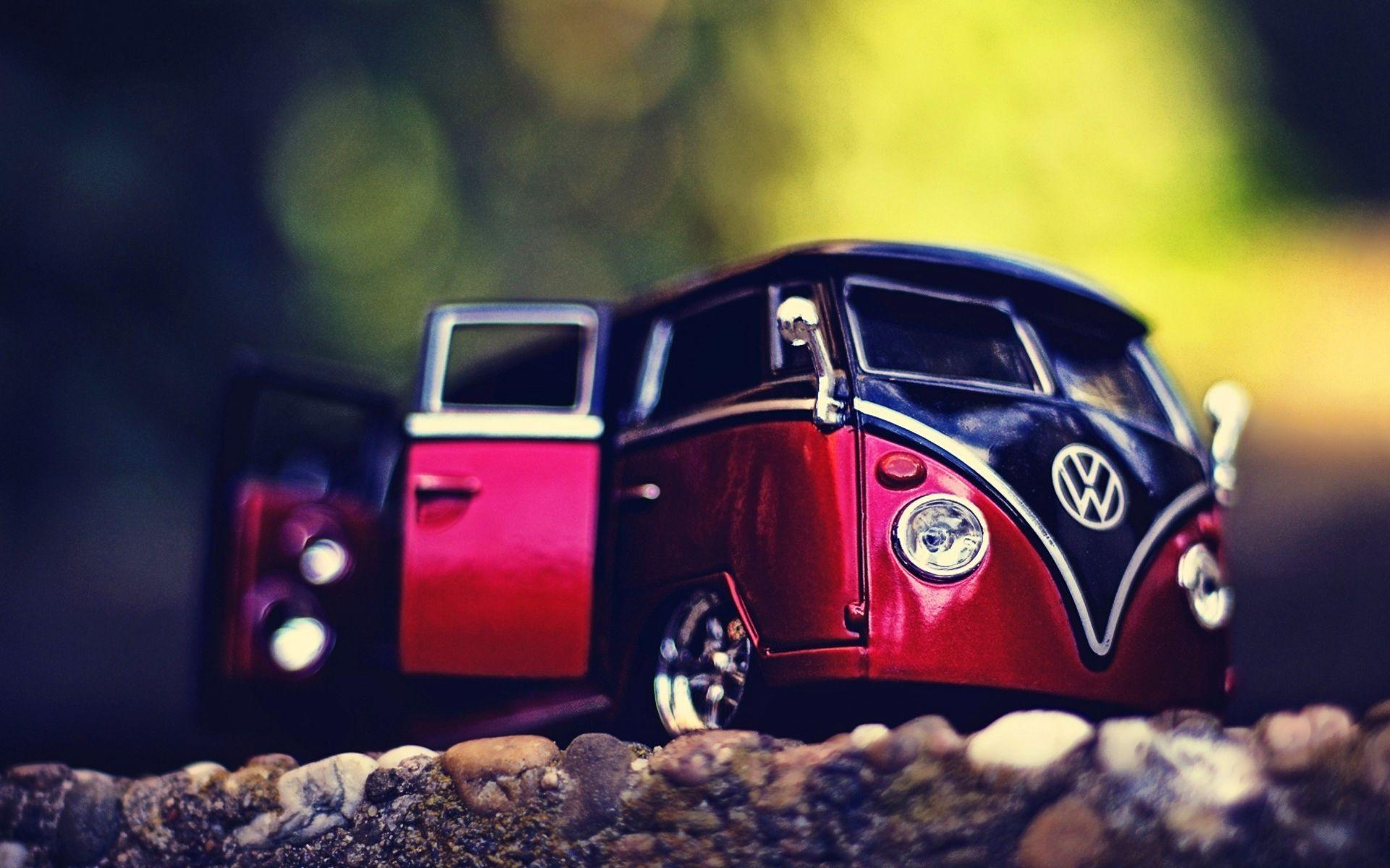 Volkswagen Miniature Wallpapers Wallpaper 2020 Car Model Toy Car Miniature Cars Hd wallpaper retro old volkswagen van