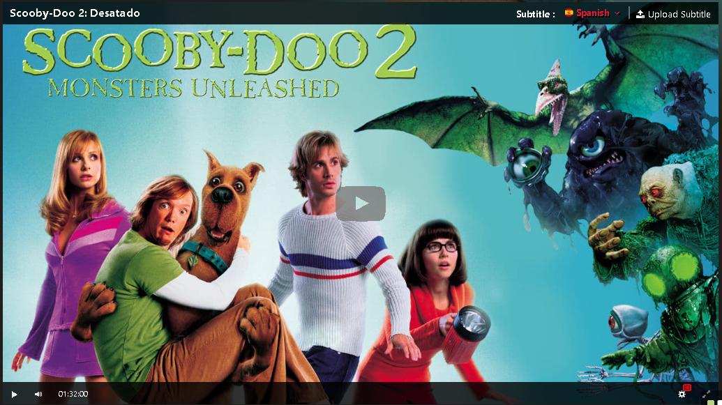 Hd Scooby Doo 2 Desatado 2004 Pelicula Completa En Espanol Gratis In 2020 Scooby Doo Free Movies Online Scooby