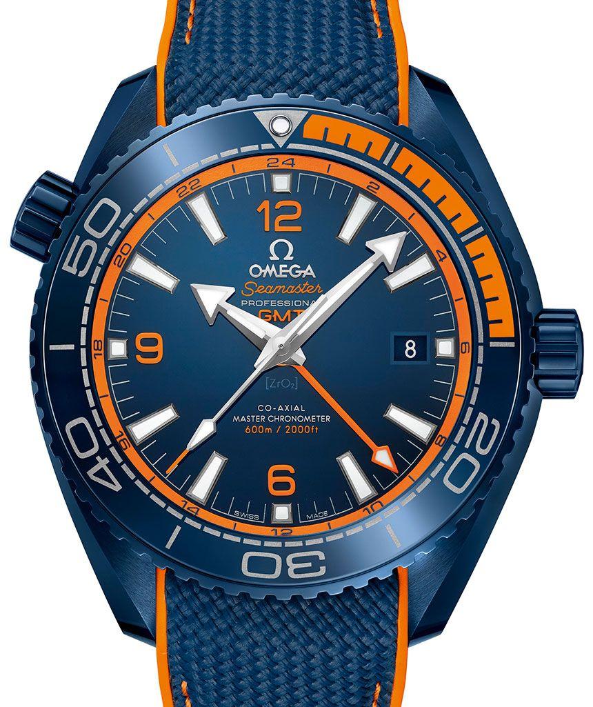 Omega Planet Ocean Blau