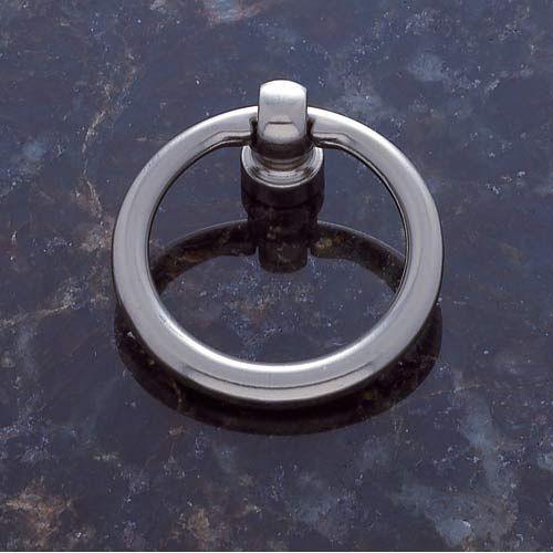 JVJ Hardware Satin Nickel Ring Pull | Cabinet hardware, Pewter and ...