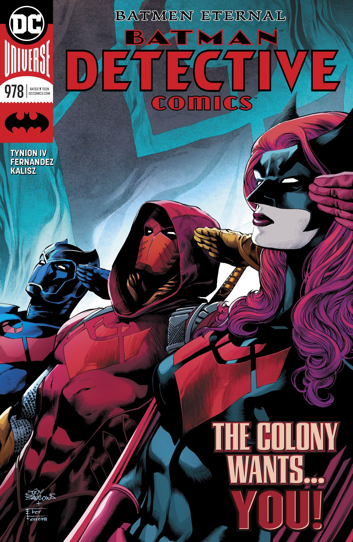 Detective Comics #978 | Comic Art | Detective comics rebirth