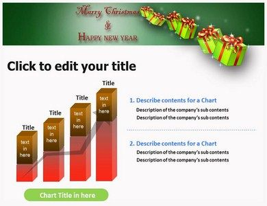 Christmas ppt template christmas powerpoint template pinterest christmas ppt template toneelgroepblik Image collections