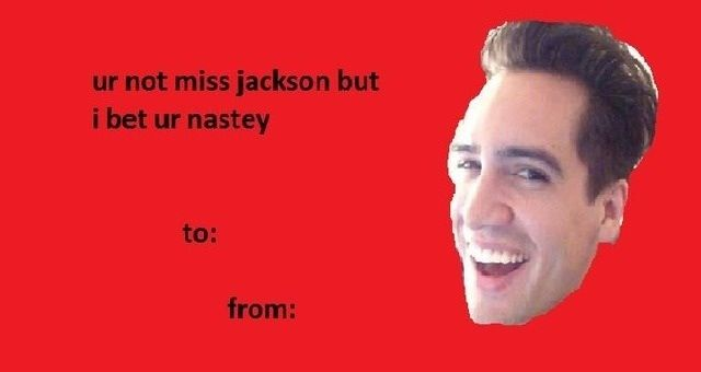 Can We Get A Valentine S Day Card For This I Mean Hallmark I M Tired Of Your Generic Cards I Want 5 Valentines Memes Panic At The Disco Valentines Day Memes