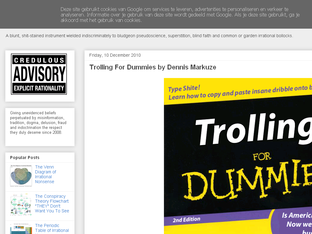 The Reason Stick: Trolling For Dummies by Dennis Markuze